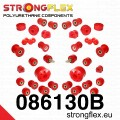 StrongFlex PU silentbloky - Full kit - Honda Civic CRX /88-91
